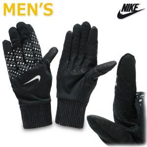 手袋 ランニング グローブ メンズ ドライフィット 軽量 薄手 防寒 ランナー ジョギング タッチパネル 対応 ナイキ/スフィア フラッシュ メンズ グローブ RN1038 kanerin
