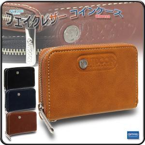 ウォレット 財布 コインケース 合成皮革 フェイクレザー アウトドアプロダクツ/フェイクレザー コインケース OD0022|kanerin