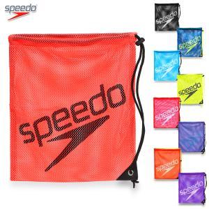 スピード 巾着 メッシュバッグ メッシュ ランドリーバッグ プールバッグ speedo/メッシュバッグ Mサイズ SD96B07|kanerin