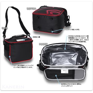 クーラーバッグ サーモス クーラーボックス 保冷バッグ ペットボトルクーラー 5L/ソフト クーラー 5L REI-005|kanerin|03