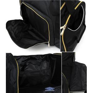 ボストンバッグ 大容量ボストン 大型バッグ スポーツバッグ 遠征バッグ ツアーバッグ 旅行バッグ アンブロ/大容量 ツアーバッグ UJS1740|kanerin|03