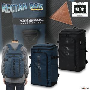 リュックサック バックパック スクエアリュック 男女兼用 ヤックパック/RECTAN BOX No,8125311-F|kanerin