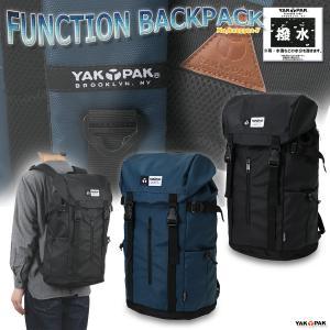 リュックサック バックパック フラップリュック 大容量 男女兼用 ヤックパック/FUNCTION BACKPACK No,8125312-F|kanerin