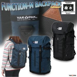 リュックサック バックパック フラップリュック 男女兼用 ヤックパック/FUNCTION-M BACKPACK No,8125313-F|kanerin