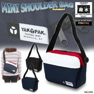 ショルダーバッグ スモールショルダー 小さいショルダーバッグ コーデュラ ポシェット 男女兼用 ヤックパック/MINI SHOULDER BAG No,8125316-F|kanerin