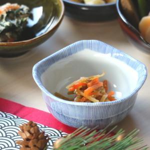 京十草四角小付 9×8.8×4.3(cm) 日本製 美濃焼 業務用食器 使いやすい食器 使いやすい小鉢 本格和食器 kaneroku