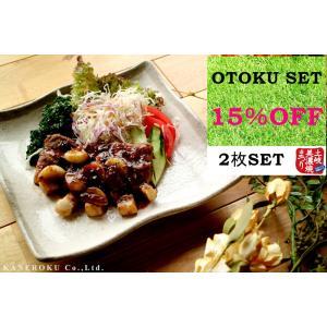 お得セット 白唐津9.0正角皿 23.3×23.3×4.6(cm) 日本製 美濃焼 業務用食器 本格和食器 使いやすいお皿 kaneroku