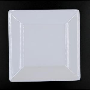 スクエアーホワイト15cm皿 15.2×15.2×1.9(cm) 日本製 美濃焼 業務用食器 白のお皿 白磁 白磁の皿 パン皿 kaneroku