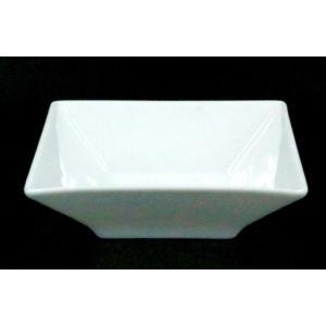 スクエアーホワイト12.5cmボール 12.5×12.5×3.8 kaneroku