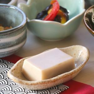 うす茶うのふ長小皿 11.6×6.3×2.3(cm)日本製 美濃焼 業務用食器 使いやすい小鉢 使いやすい小皿 本格和食器 漬物皿 おうち居酒屋 kaneroku