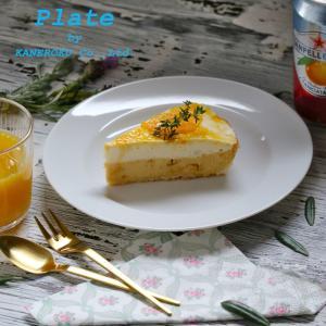 プラージュ21cmリムプレート 21.2×2.2(cm) 日本製 美濃焼 業務用食器 白磁 白磁のプレート 特別な日のお皿 おうちカフェ|kaneroku