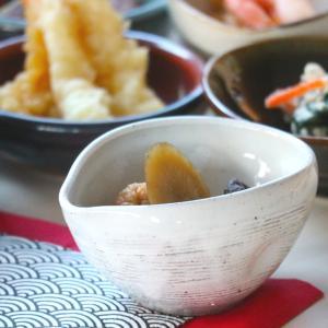 粉引片口小付 9.5×8.5×5(cm) 日本製 美濃焼 業務用食器 使いやすい小付 使いやすい食器 本格和食器 おうち居酒屋  kaneroku