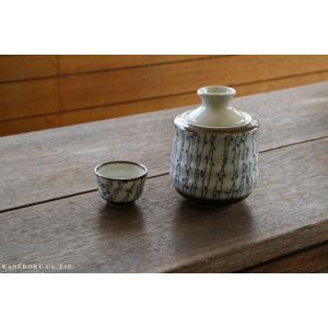 小染つた酒燗器(大)12×15.7(cm) 約330cc 日本製 美濃焼 業務用食器 おうち居酒屋 酒器|kaneroku