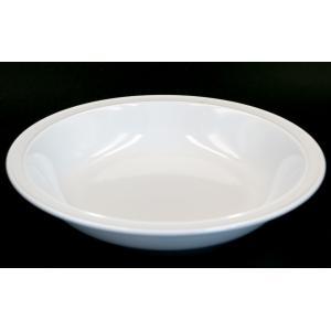 siro8.0スープ皿 21.5×4(cm) 日本製 美濃焼 業務用食器 白磁 白のお皿 スープ皿 おうちカフェ 丈夫な皿|kaneroku