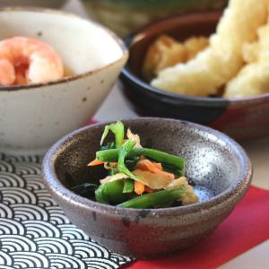 乱れ黒吹き小付 8.7×3.3(cm) 日本製 美濃焼 業務用食器 使いやすい食器 使いやすい小鉢 本格和食器 おうち居酒屋 小鉢 漬物皿 kaneroku