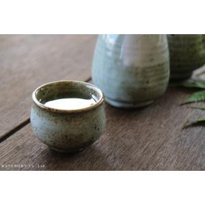 唐津刷毛目盃 5×4(cm) 日本製 美濃焼 業務用食器 おうち居酒屋 酒器|kaneroku