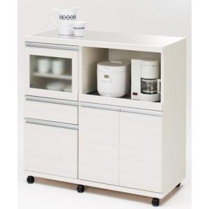 【日本製】【YHC配送対応商品】キッチンカウンターHIGH CON UNTER (MRS-102ホワイトウッド/MRD-102リアルウォールナット)W1025×D445×H983|kanesen-kagu
