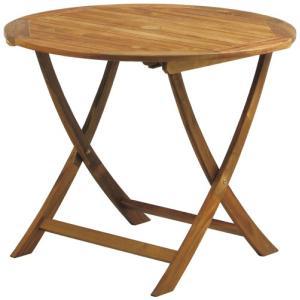 屋内用天然木アカシアガーデンセット ホールディングテーブル(AW-F90RT)φ900×H725【送料無料】|kanesen-kagu