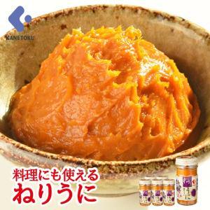 ねりうに 80g×6本 練りうに 練りウニ 瓶うに ウニ 雲丹 珍味|kanetoku