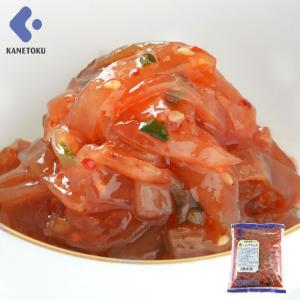 くらげキムチ 1kg くらげ キムチ 業務用 おつまみ 珍味 肴|kanetoku