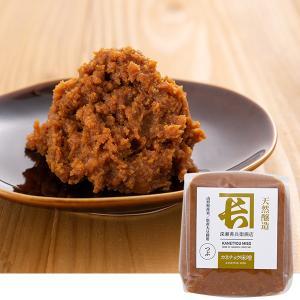 天然醸造別作り味噌 1kg(つぶ)(山形県産大豆・米使用 深瀬善兵衛商店)|kanetyou