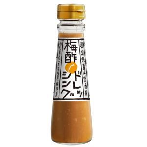 梅酢ドレッシング 190g(自家製米麹入り)(保存料・化学調味料不使用 深瀬善兵衛商店)|kanetyou