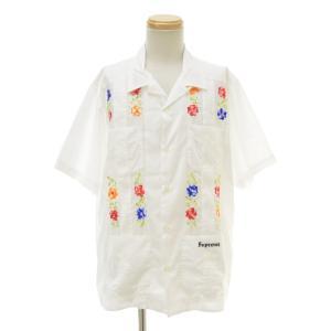 【期間限定値下げ】SUPREME / シュプリーム 19SS Flowers Guayabera S/S Shirt 半袖シャツ|kanful