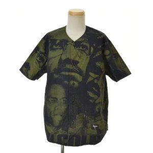 SUPREME / シュプリーム 15SS Malcolm X Baseball Shirt 半袖シャツ|kanful