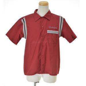 【期間限定値下げ】TENDERLOIN / テンダーロイン BOWLS SHT S/S バックロゴ ボーリング 半袖シャツ|kanful