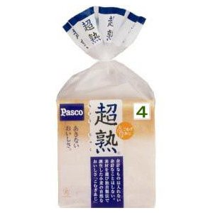 パスコ PASCO 超熟 4枚切|kani