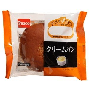 パスコ ロングライフ クリームパン|kani