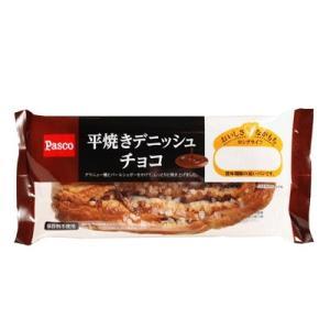 パスコ ロングライフ 平焼きデニッシュチョコ|kani