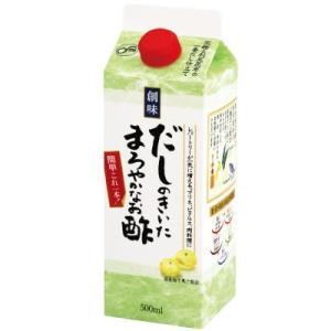創味 だしのきいたまろやかなお酢 500ml|kani