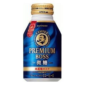サントリー BOSS プレミアムボス 微糖 ボトル缶260g1箱24本|kani