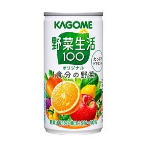 カゴメ 野菜生活100オリジナル 缶190g1箱30本|kani