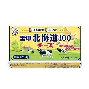 雪印 北海道100 チーズ 200g|kani