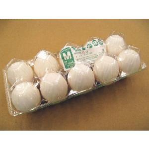 日常の食材 鶏卵 Mサイズ 1パック 10玉入|kani