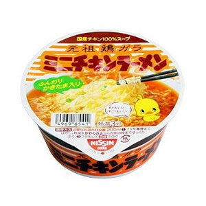 日清食品 チキンラーメン どんぶりミニ1箱12食