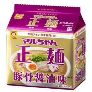 東洋水産 マルちゃん正麺 豚骨味 1箱5食入×6袋|kani