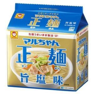 東洋水産 マルちゃん正麺 塩味 1箱5食入×6袋|kani