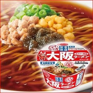 エースコック 産経新聞 大阪ラーメン あまから醤油 1箱12食|kani