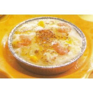 食べやすいミニサイズのエビグラタン 4個入★冷凍食品|kani