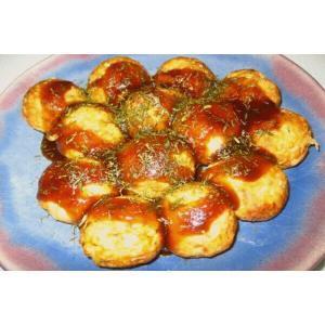 本格的なたこ焼き (タコヤキ)600g(10個入200g×3袋)★冷凍食品|kani
