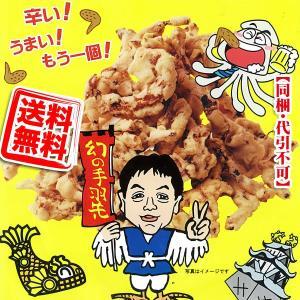 送料無料 世界の山ちゃん 天ぷらてばさきいか 4袋 (メール便 同梱不可 代引不可)|kani