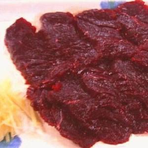 お刺身用 鯨肉 (クジラ 赤肉) 約1kg|kani