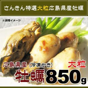 広島県産 大粒 カキ Lサイズ NetWt 850g (加熱用生牡蠣)|kani