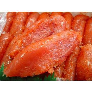 辛子明太子『華ふくいち』1kg(大サイズちょっと訳ありの切子)|kani