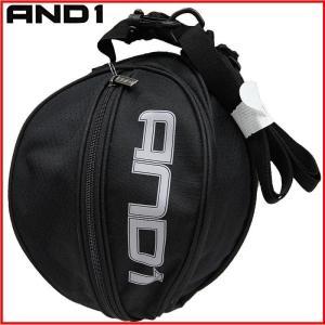 AND1 バスケット SURFACE BALL BAG ボールバッグ 05979 ブラック×グレー アンドワン ミニバス ダンス|kanisponet