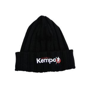 ■メール便選択で送料無料■ ケンパ ハンドボール ニットキャップ(KNITTED CAP) 2005025 ブラック kanisponet