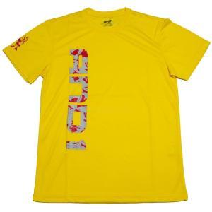 ■メール便選択で送料無料■ AND1 バスケット AND1 GRAPHIC LOGO TEE Tシャツ 53105 イエロー アンドワン ミニバス ダンス|kanisponet